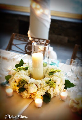 At Sayles Livingston Flowers, we have found that weddings at the Chanler in Newport are always elegant!