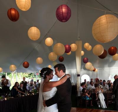 An Organic Wedding at Mount Hope Farm in Bristol, Rhode Island.