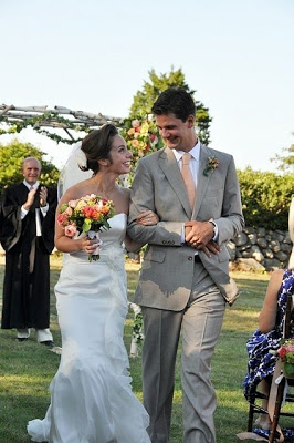 A perfect day and a perfect wedding in South Dartmouth.