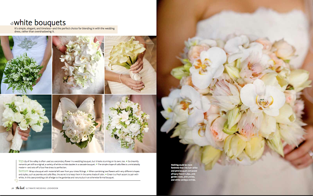 BOUQUETS FROM SAYLES LIVINGSTON DESIGN featured in the knot's NEW Ultimate Wedding Lookbook.