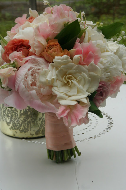 Memorial Day Bridal Bouquet from Sayles Livingston Design