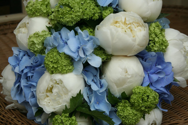 Blue bouquets this weekend….