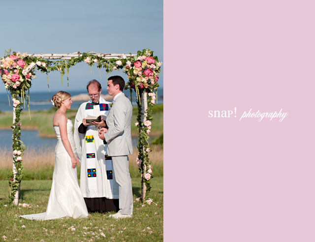 Thanks Snap! GREAT images of a beautiful wedding we did here in Little Compton!!!