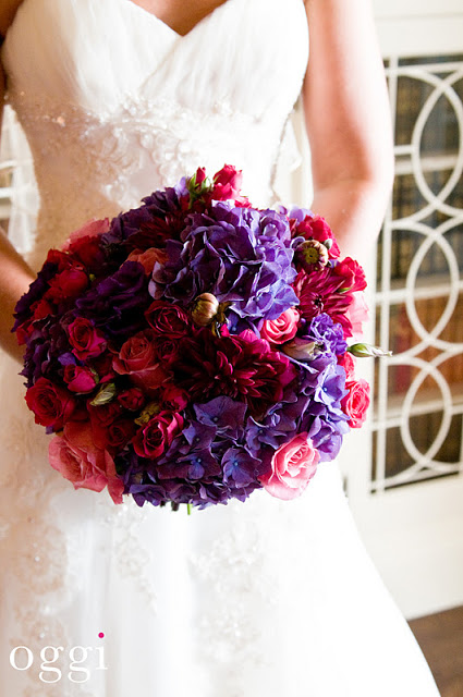 Great Colors for a late fall bouquet!