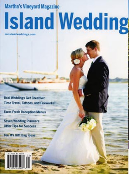 A Sayles Livingston Design Wedding Featured in Martha's Vineyard Magazine's ISLAND WEDDING!
