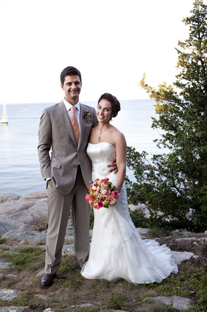 Wedding in South Dartmouth, Massachusetts