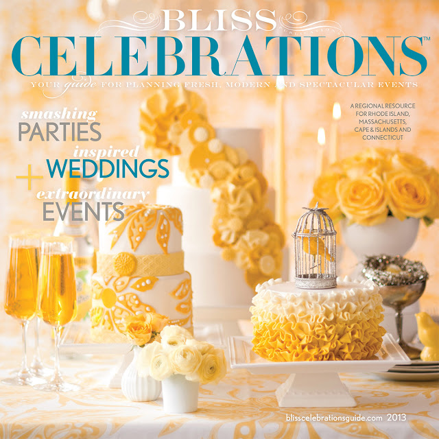Weddings, Events and Bouquets Featured in the New Issue of Bliss Celebrations 2013!!!