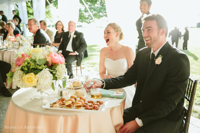 Blithewold Wedding by Rebecca Arthurs