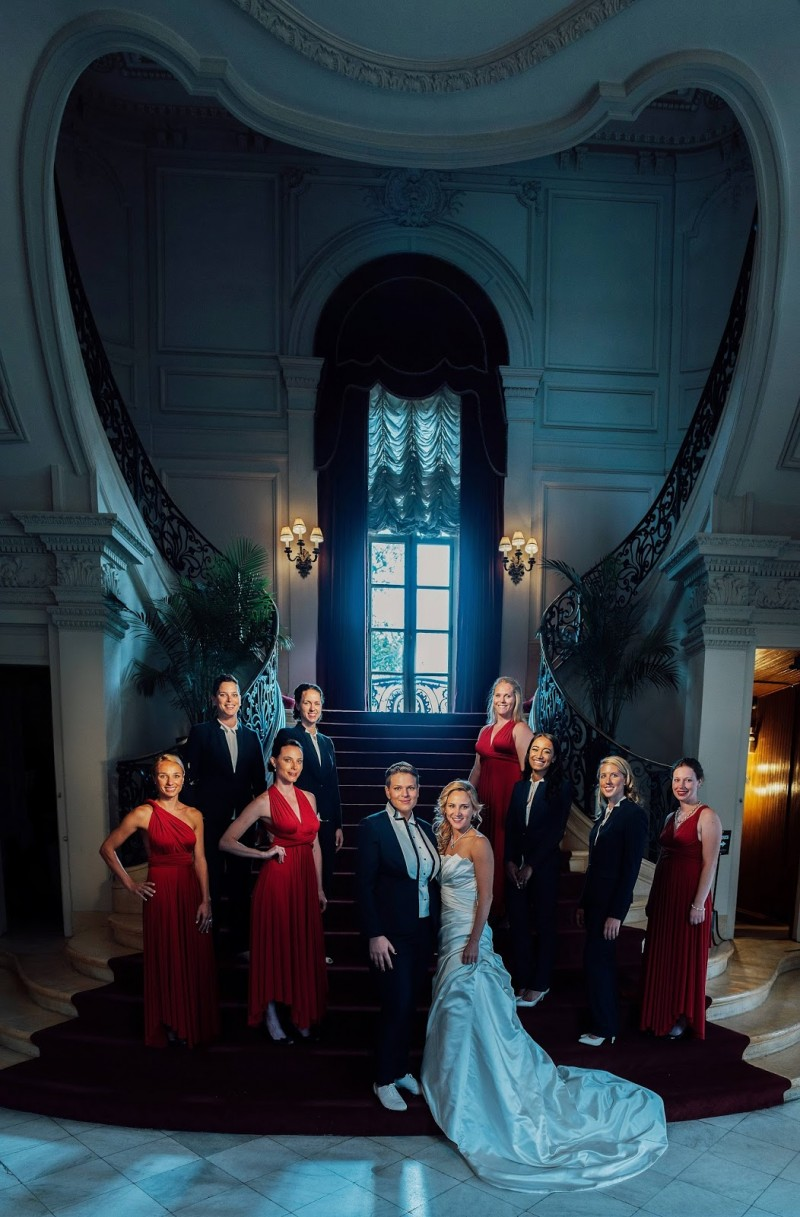 Emilie and Nicole's Fourth of July Wedding