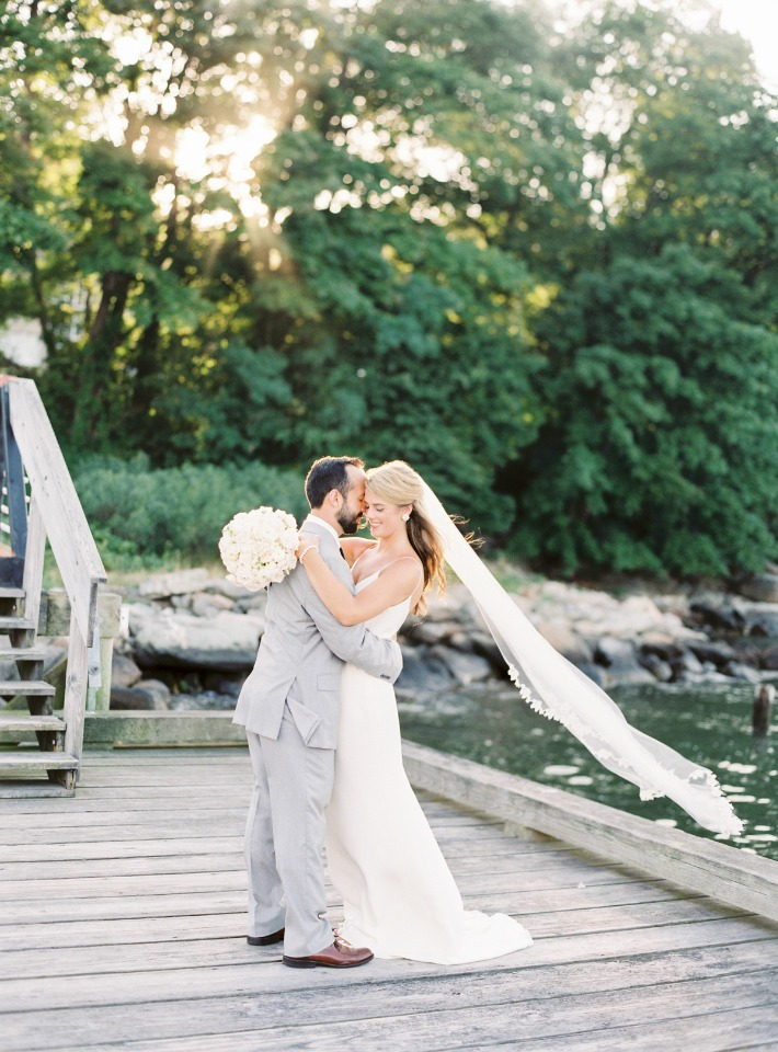 Romantic Newport wedding