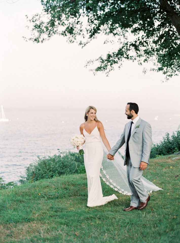 Newport outdoor wedding