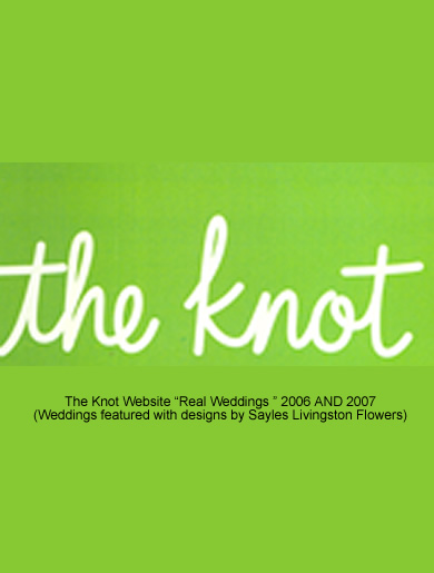 The Knot – Real Weddings