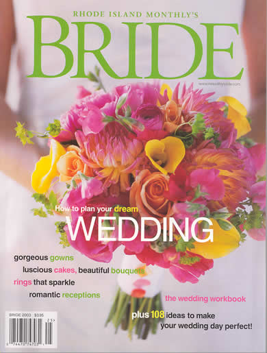 Rhode Island Monthly Bride 2003