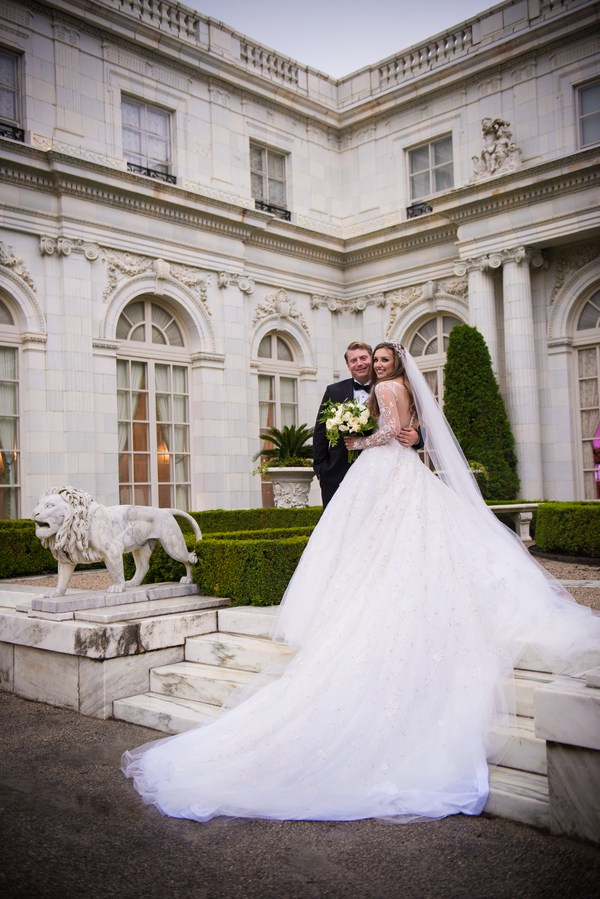 Olivia and Zach's Wedding has been featured on The Newport Bride!