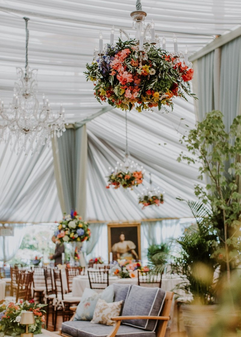So many incredible details at this Ocean House wedding inspired by the Dutch painters!