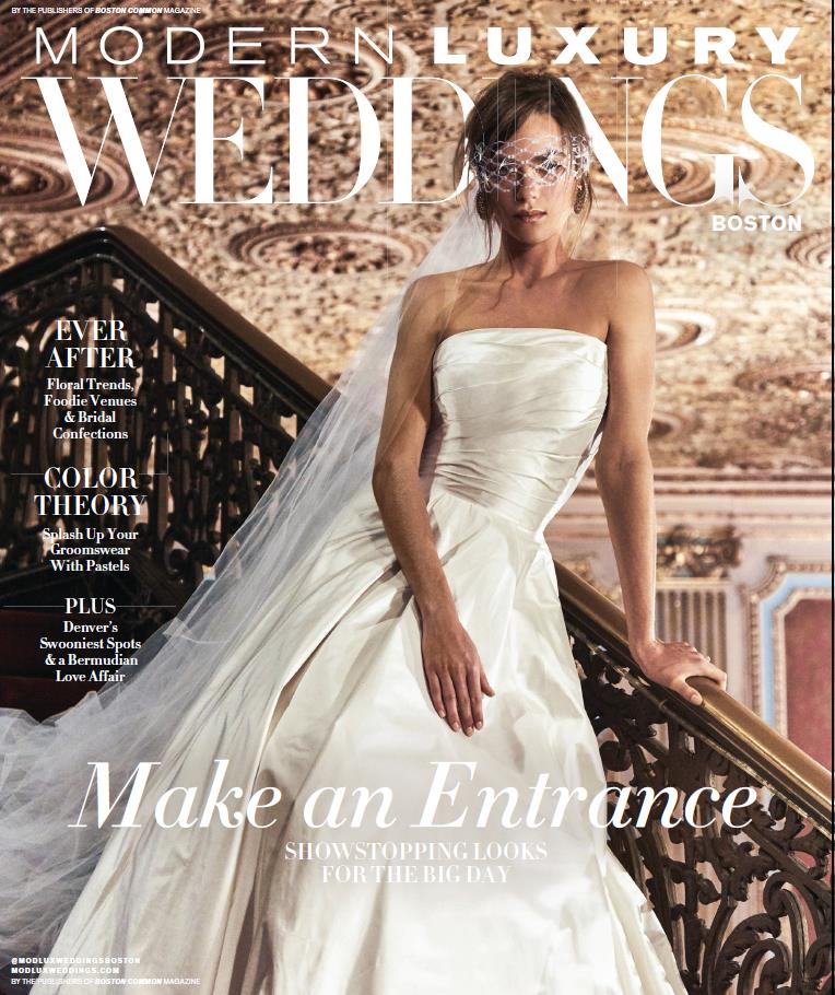 Michelle and Philip's STYLISH wedding has been featured on Modern Luxury!!