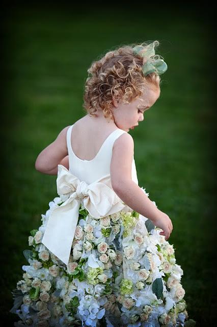 Flower Girl Dress from Sayles Livingston Design