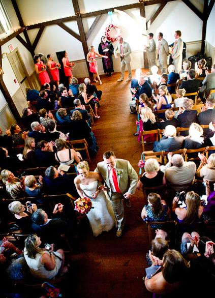 Very Fun, Fall Wedding at The Meeting House in Tiverton, RI