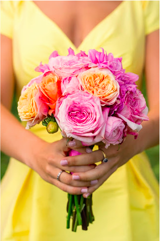 Yummy Wedding Colors at Glen Manor!