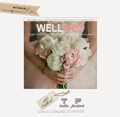 SAYLES LIVINGSTON DESIGN PHOTO SHOOT featured in WellWed Magazine this Issue