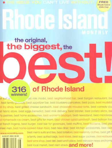 Best of Rhode Island 2003