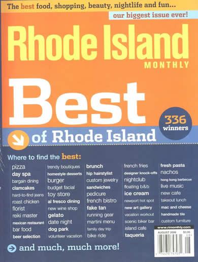 Best of Rhode Island 2006