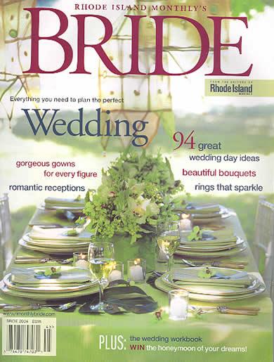 Rhode Island Monthly Bride 2004