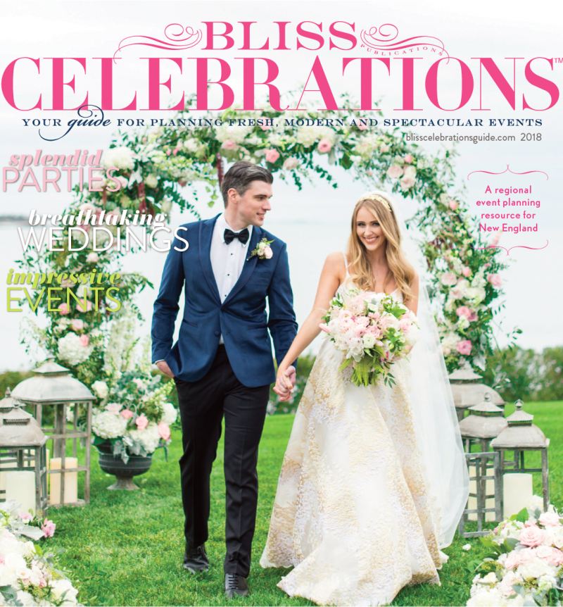 We made the cover of this year's Bliss Celebrations Magazine!