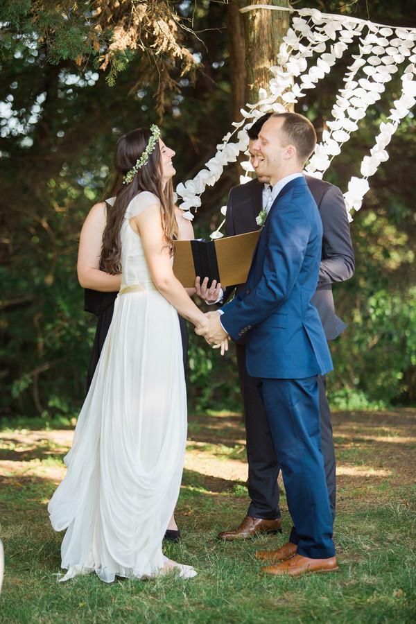A beautiful wedding at Mount Hope farm!