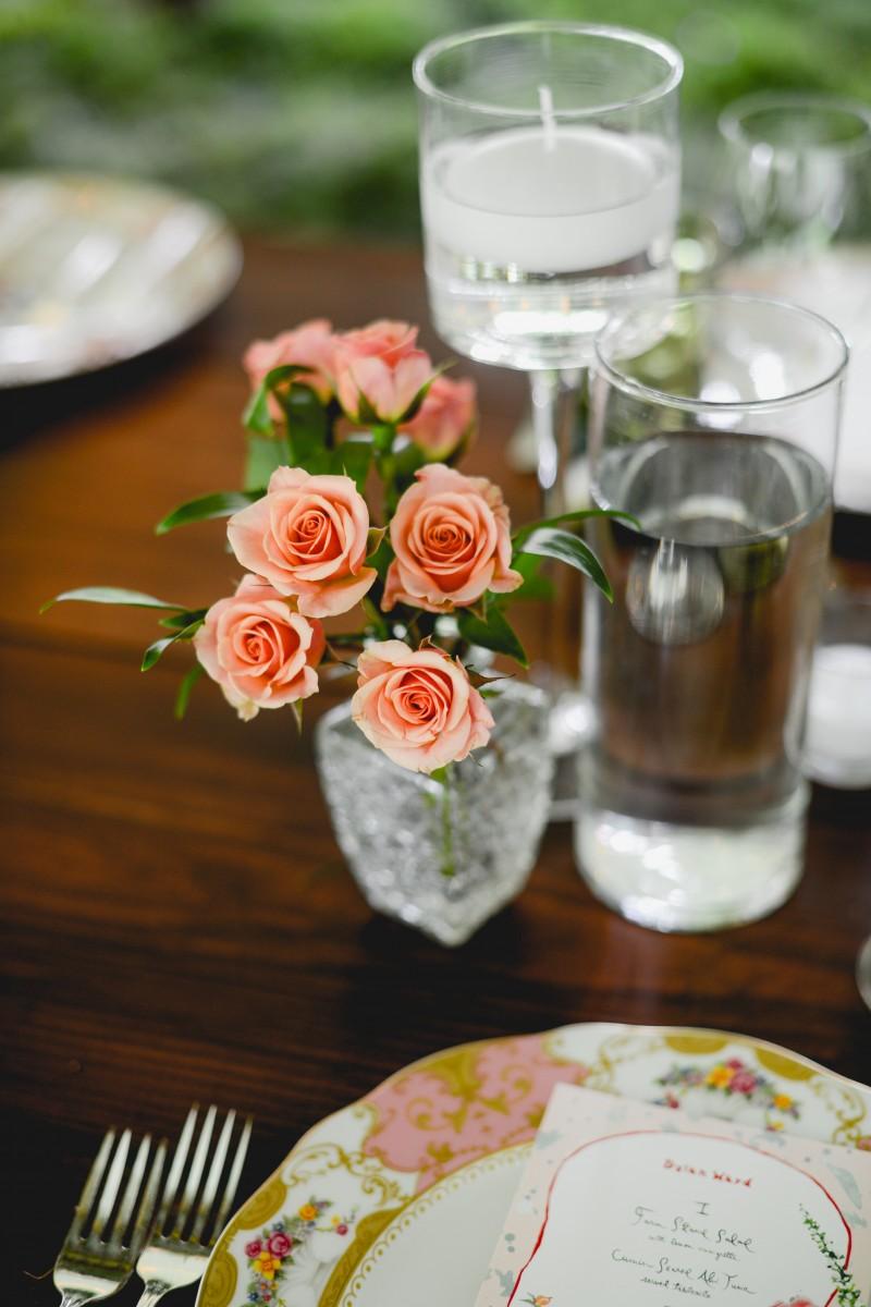 Sayles Livingston Design Centerpiece Florals
